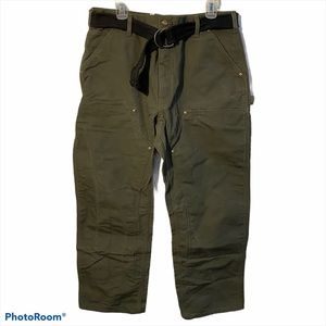 Vintage Carhartt Double knee pants work with belt